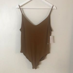 American Eagle Ribbed Body Suit